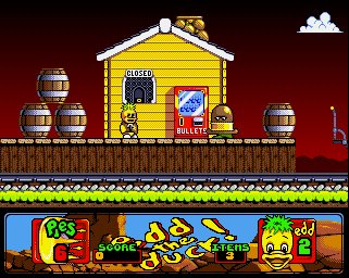 Pantallazo de Edd the Duck 2: Back with a Quack! para Amiga