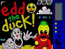 Pantallazo de Edd the Duck para Spectrum