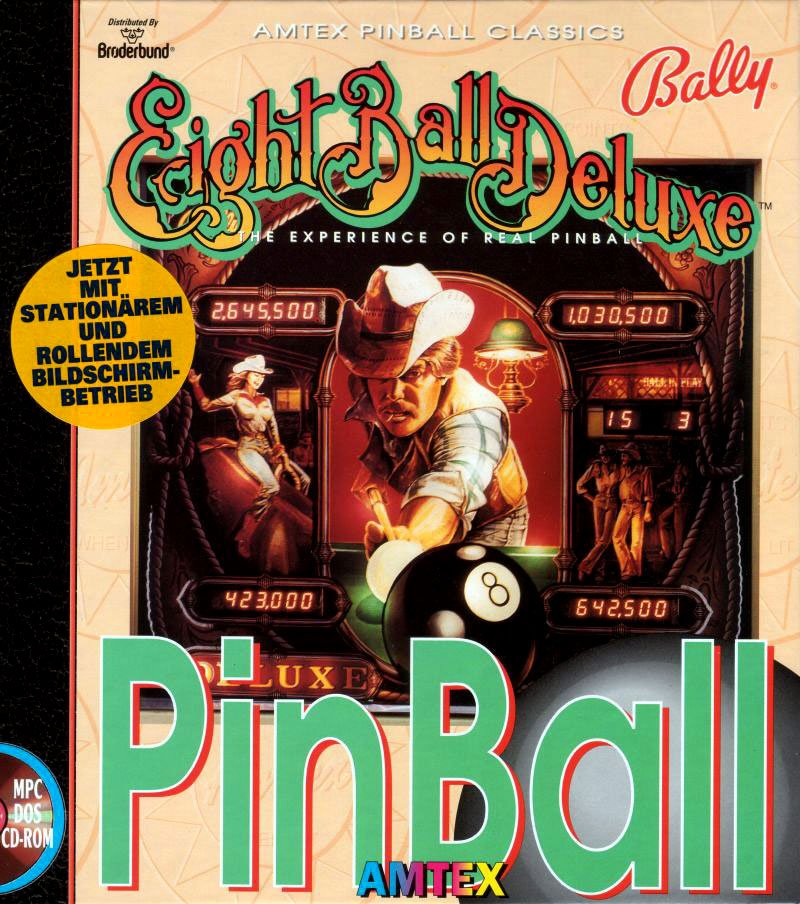 Caratula de Eight Ball Deluxe para PC