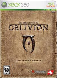 Caratula de Elder Scrolls IV: Oblivion, The -- Collector's Edition para Xbox 360
