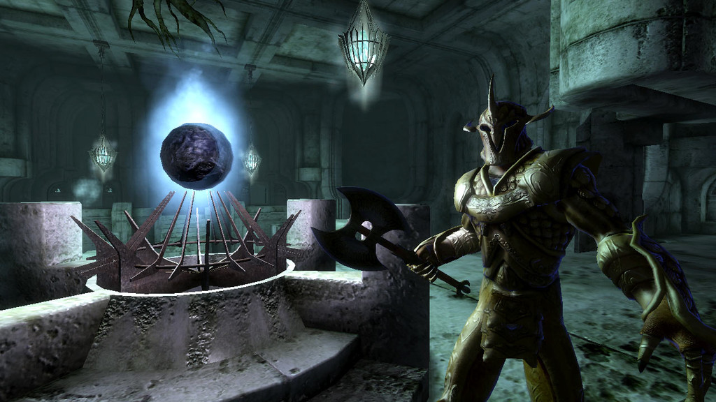 Pantallazo de Elder Scrolls IV : Oblivion - Knights of the Nine, The para Xbox 360