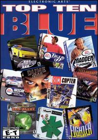Caratula de Electronic Arts Top Ten Blue para PC