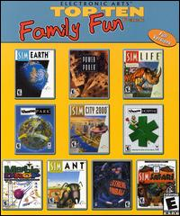 Caratula de Electronic Arts Top Ten Family Fun Pack para PC