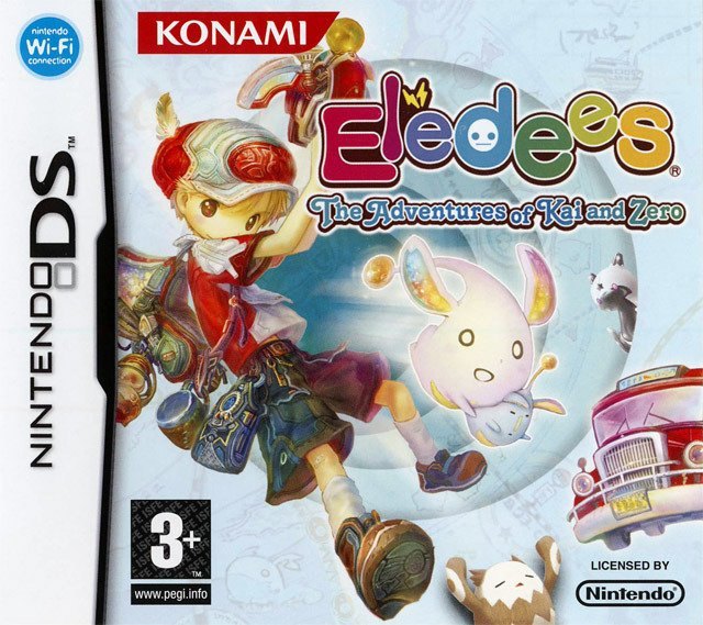 Caratula de Eledees: The Adventures of Kai and Zero para Nintendo DS