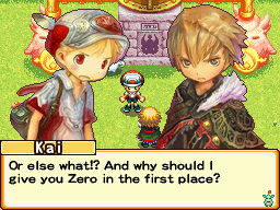 Pantallazo de Eledees: The Adventures of Kai and Zero para Nintendo DS