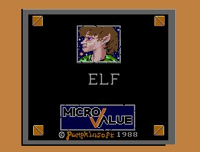 Pantallazo de Elf (Micro Value) para Amiga