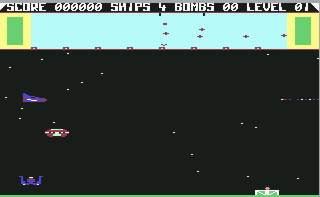 Pantallazo de Eliminator para Commodore 64