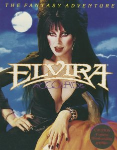 Caratula de Elvira: Mistress Of The Dark para Amiga