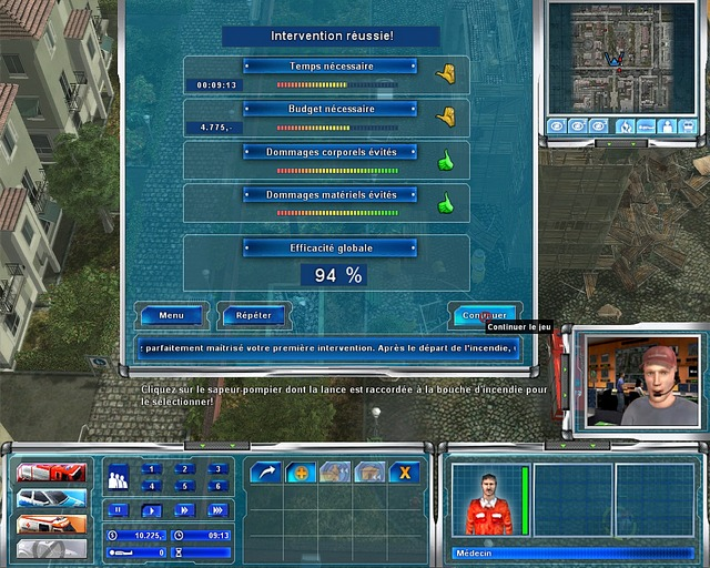 Pantallazo de Emergency 4 : Global Fighter for Life para PC