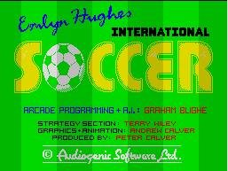 Pantallazo de Emlyn Hughes International Soccer para Spectrum