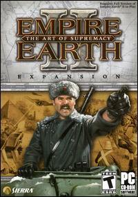 Caratula de Empire Earth II: The Art of Supremacy para PC