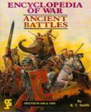 Carátula de Encyclopedia of War: Ancient Battles