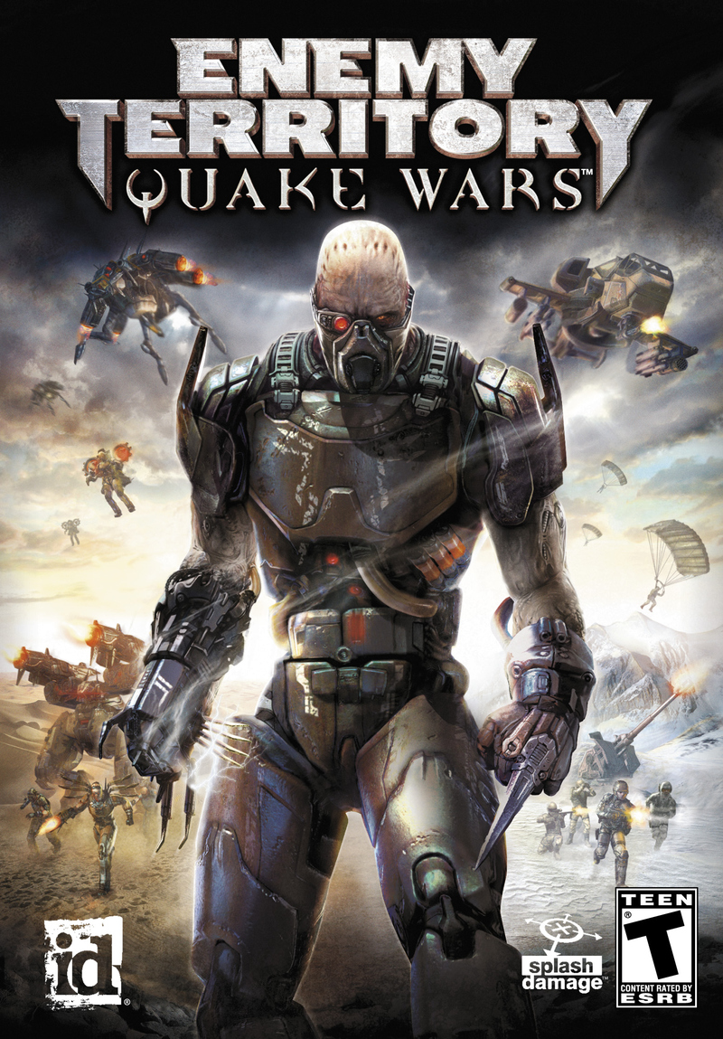 Caratula de Enemy Territory: Quake Wars para PC