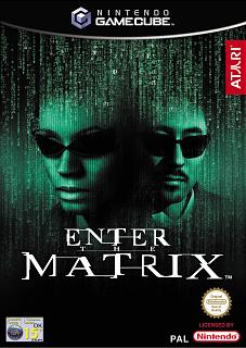 Caratula de Enter The Matrix para GameCube