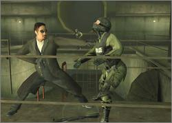 Pantallazo de Enter the Matrix para PlayStation 2