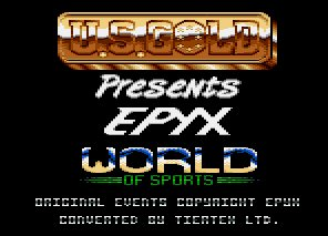 Pantallazo de Epyx World Of Sports, Cartridge para Amstrad CPC