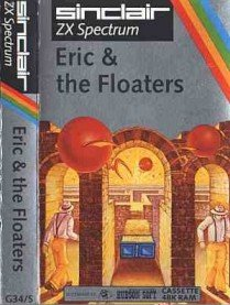 Caratula de Eric and the Floaters para Spectrum
