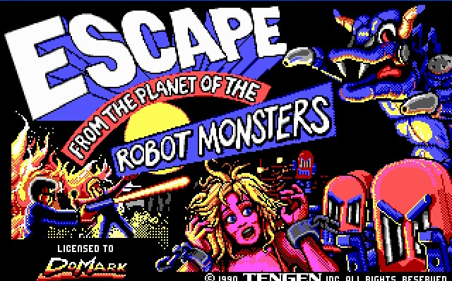 Pantallazo de Escape from the Planet of Robot Monsters para PC