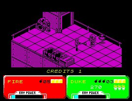 Pantallazo de Escape from the Planet of the Robot Monsters para Spectrum