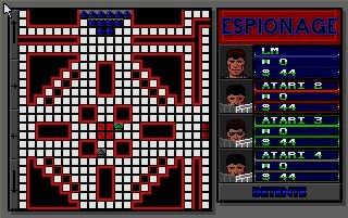 Pantallazo de Espionage: The Computer Game para Atari ST