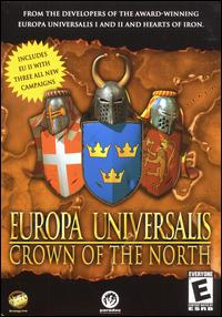 Caratula de Europa Universalis: Crown of the North para PC