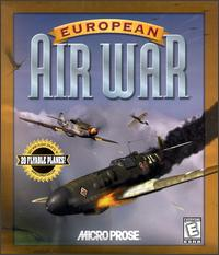 Caratula de European Air War para PC