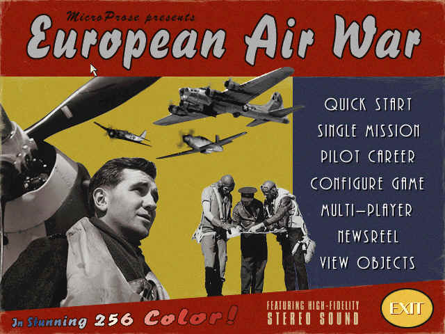 Pantallazo de European Air War para PC