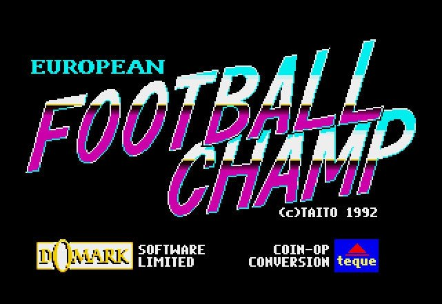 Pantallazo de European Football Champ para Atari ST