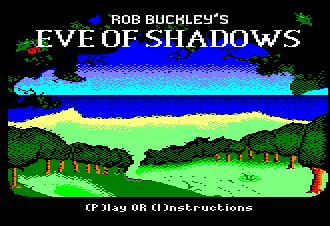 Pantallazo de Eve Of Shadows para Amstrad CPC
