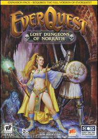 Caratula de EverQuest: Lost Dungeons of Norrath para PC