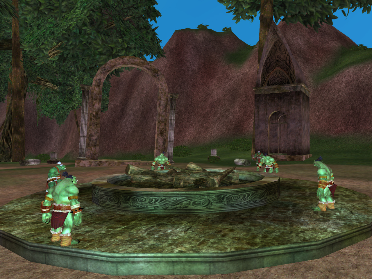 Pantallazo de EverQuest: Secrets of Faydwer para PC