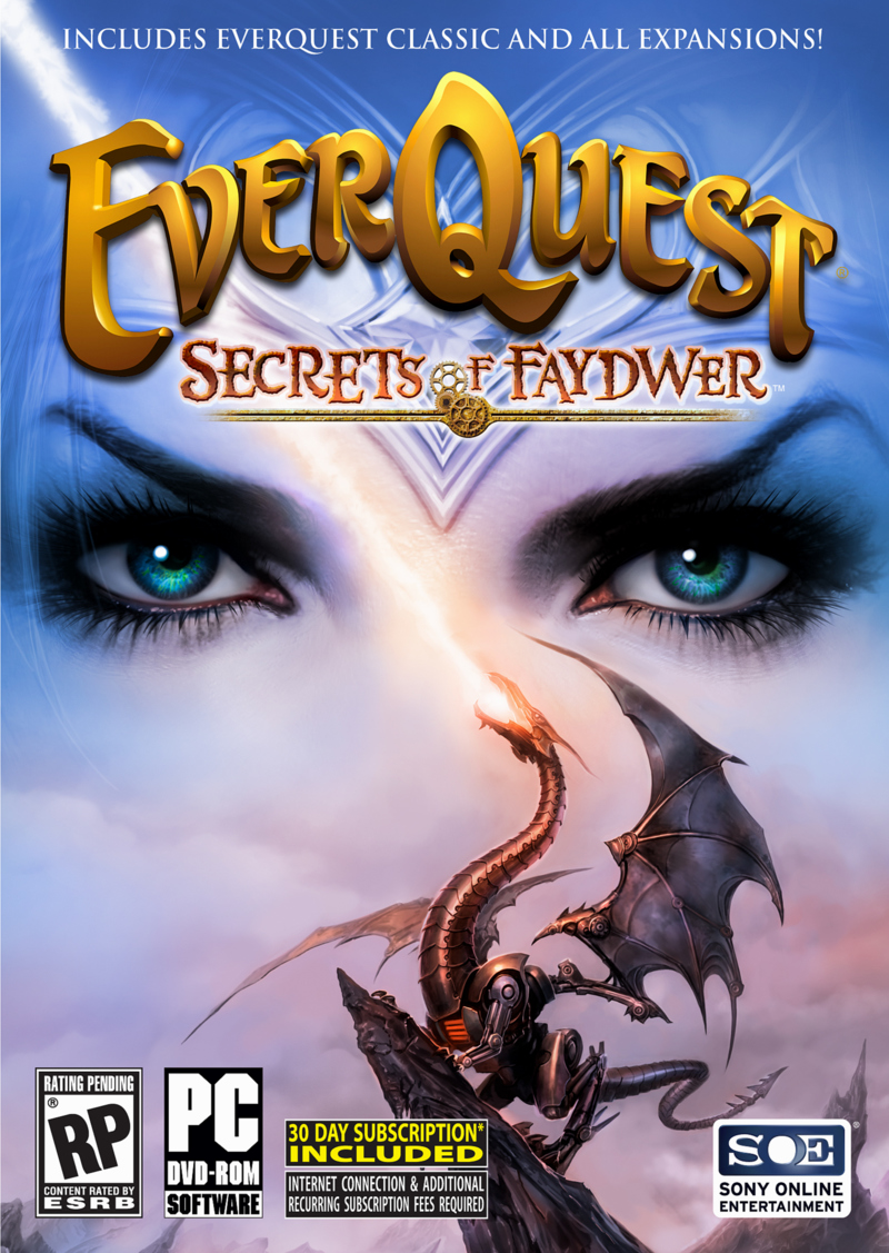 Caratula de EverQuest: Secrets of Faydwer para PC