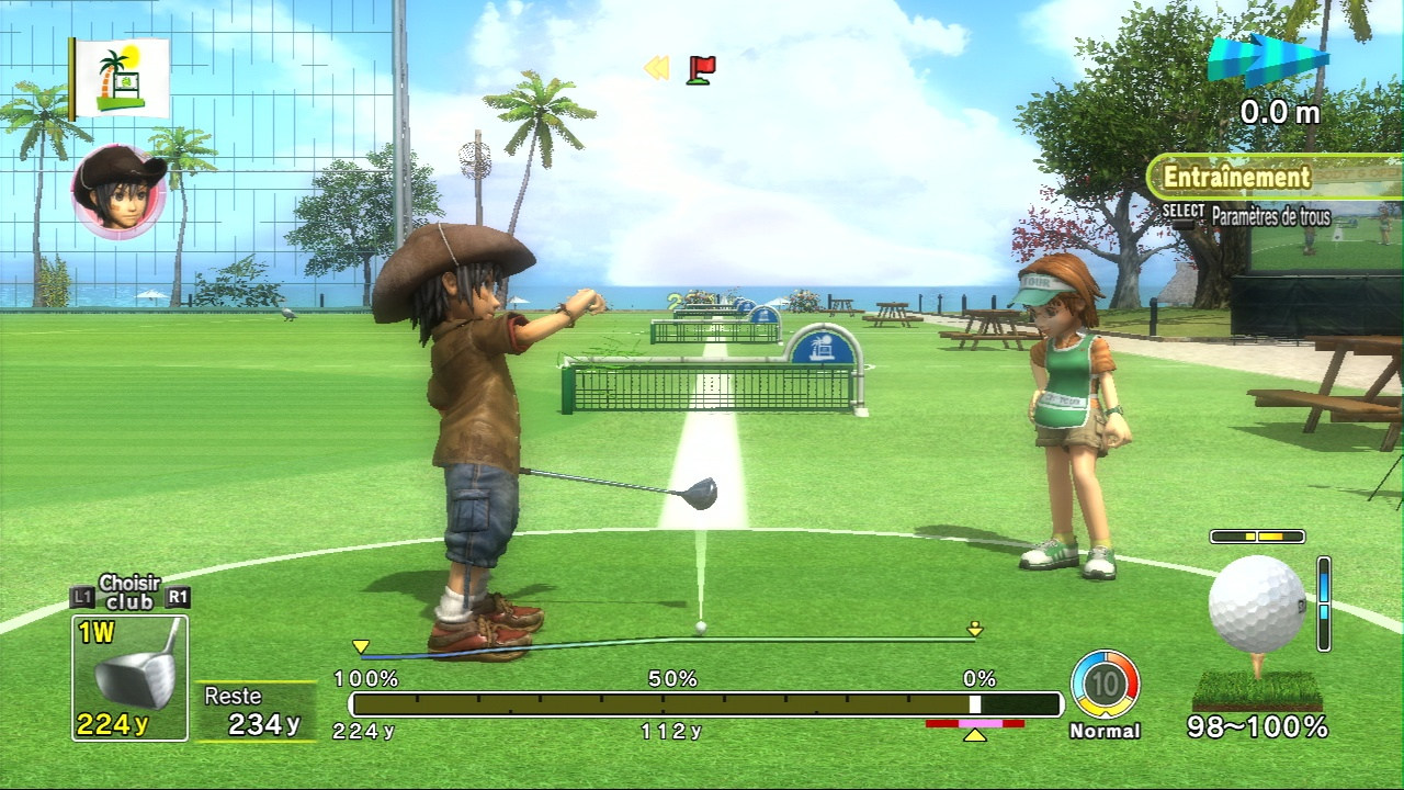 Pantallazo de Everybody's Golf: World Tour  para PlayStation 3