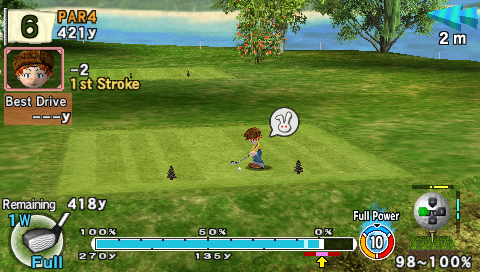 Pantallazo de Everybody's Golf 2 para PSP