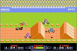 Pantallazo de Excitebike [Classic NES Series] para Game Boy Advance