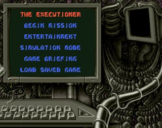 Pantallazo de Executioner, The para Amiga