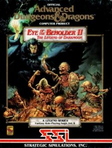 Caratula de Eye Of The Beholder II: The Legend Of Darkmoon para Amiga