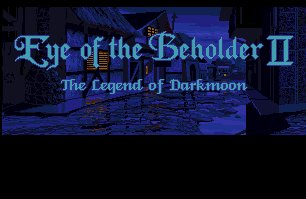 Pantallazo de Eye Of The Beholder II: The Legend Of Darkmoon para Amiga