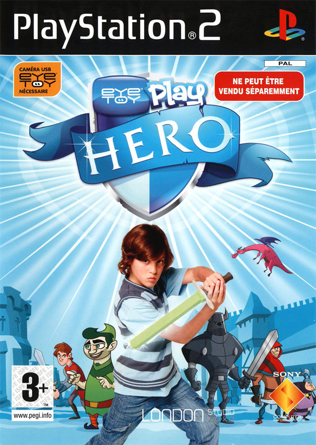 Caratula de EyeToy Play: Hero para PlayStation 2