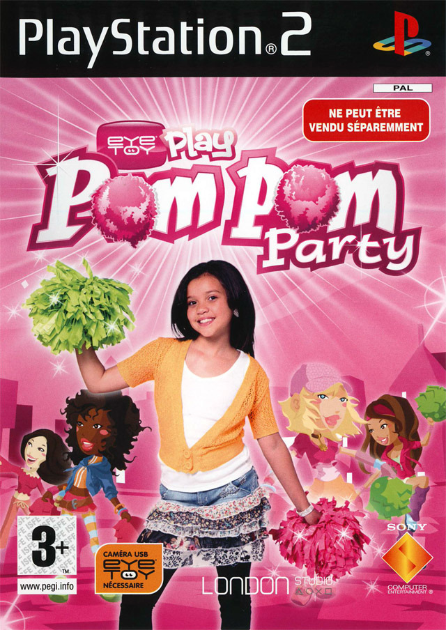 Caratula de EyeToy Play: PomPom Party para PlayStation 2