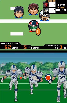 Pantallazo de Eyeshield 21: Max Devil Power (Japonés) para Nintendo DS