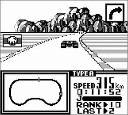 Pantallazo de F-1 Race para Game Boy