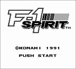 Pantallazo de F-1 Spirit para Game Boy