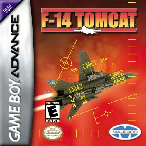 Caratula de F-14 Tomcat para Game Boy Advance