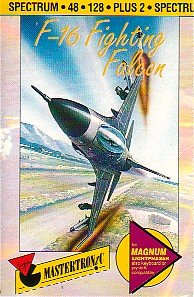 Caratula de F-16 Fighting Falcon para Spectrum