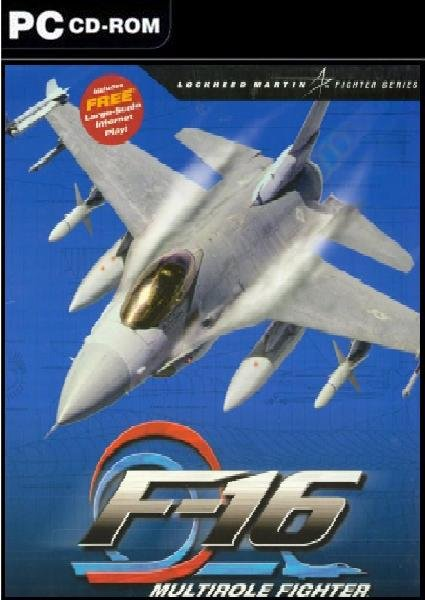 Caratula de F-16 Multirole Fighter para PC