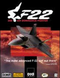 Caratula de F-22 Air Dominance Fighter para PC