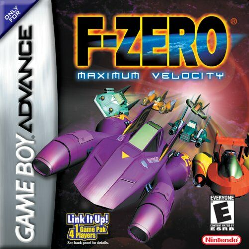 Caratula de F-Zero: Maximum Velocity para Game Boy Advance