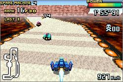 Pantallazo de F-Zero GP Legend para Game Boy Advance