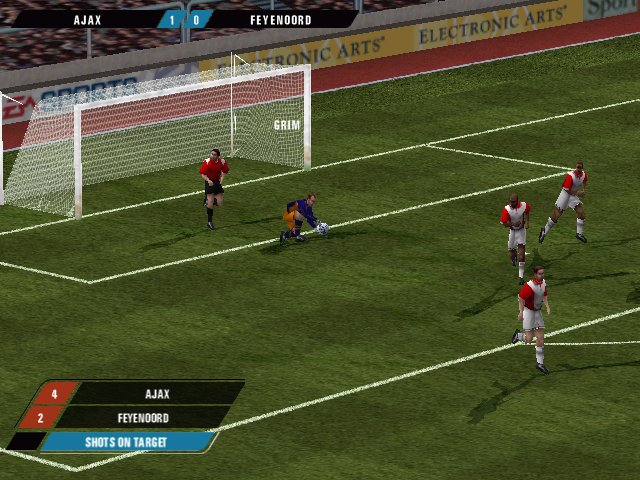Pantallazo de F.A. Premier League Football Manager 2000 para PC